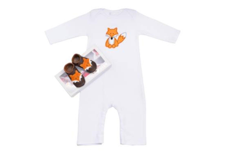 Hausschuhe Inch Blue Mr Fox braun detaillierte ansicht/modell