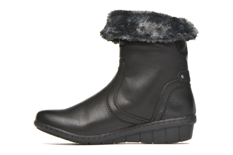Boots en enkellaarsjes Hush Puppies INGRID Zwart voorkant