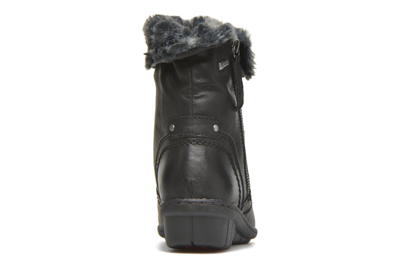 Boots en enkellaarsjes Hush Puppies INGRID Zwart rechts