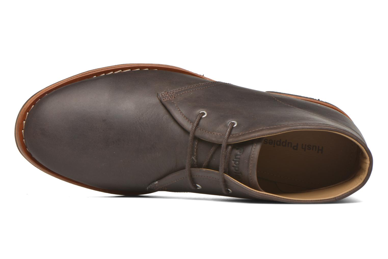 Chaussures à lacets Hush Puppies Kieran Charge Marron vue gauche