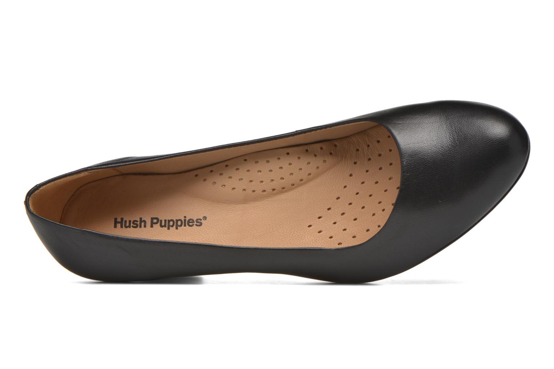 Escarpins Hush Puppies ALEGRIA Noir vue gauche