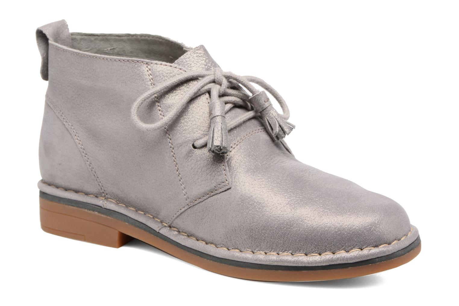 Marques Chaussure femme Hush Puppies femme Cyra Catelyn Gris Brillant