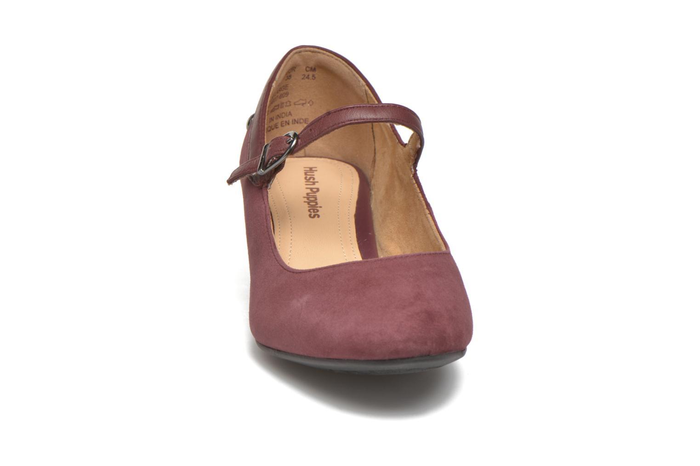 Zapatos de tacón Hush Puppies Nara Discover Vino vista del modelo