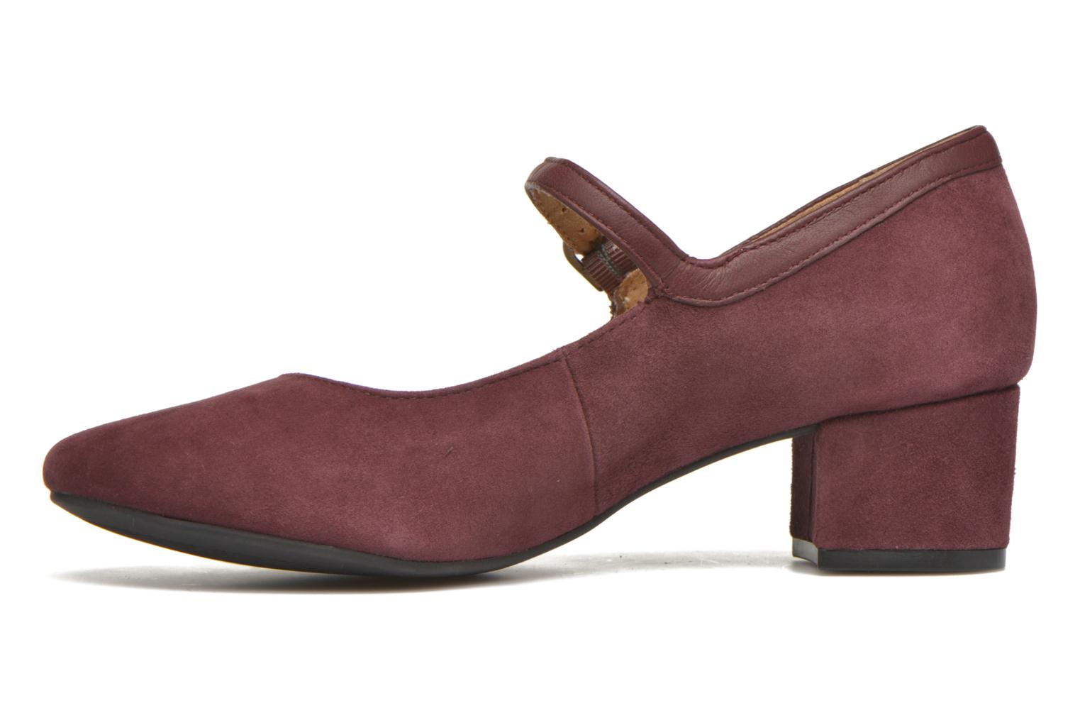 High heels Hush Puppies Nara Discover Burgundy front view