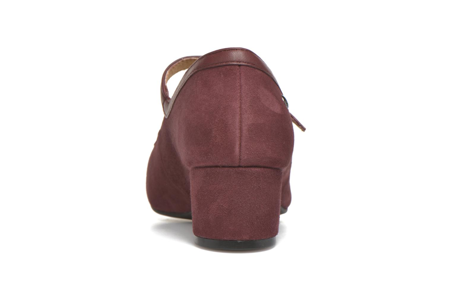 High heels Hush Puppies Nara Discover Burgundy view from the right