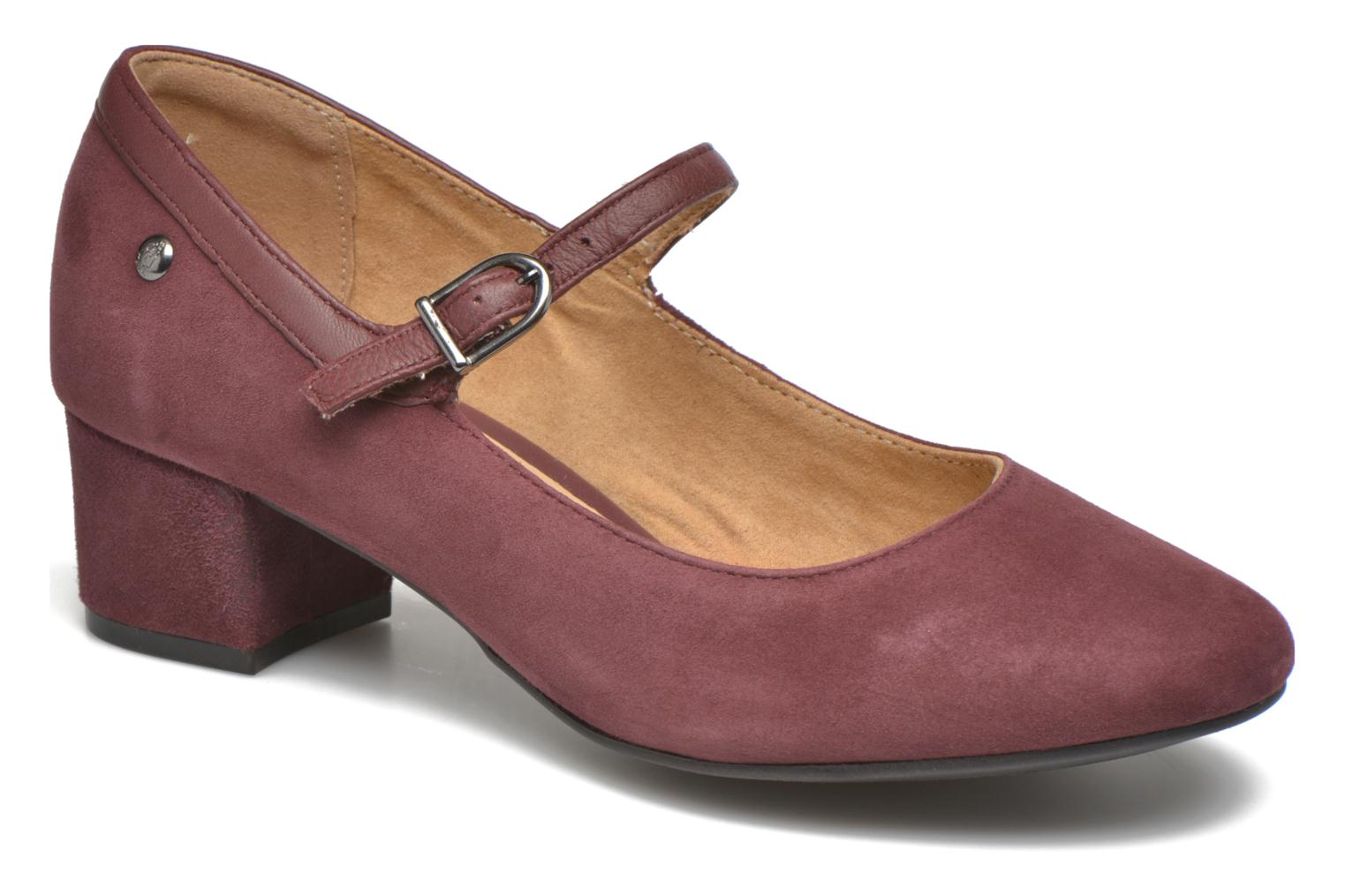High heels Hush Puppies Nara Discover Burgundy detailed view/ Pair view