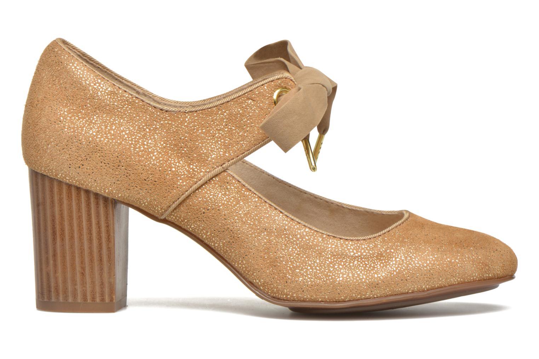 High heels Hush Puppies Margot Langdon Bronze and Gold back view