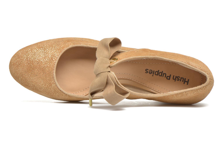 Zapatos de tacón Hush Puppies Margot Langdon Oro y bronce vista lateral izquierda