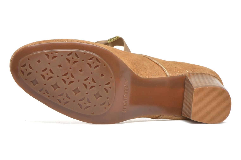 Zapatos de tacón Hush Puppies Margot Langdon Oro y bronce vista de arriba