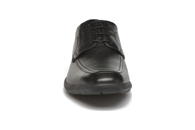 Zapatos con cordones Hush Puppies Sam Negro vista del modelo
