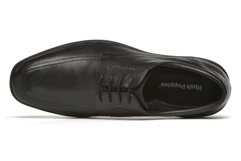 Chaussures à lacets Hush Puppies Sam Noir vue gauche