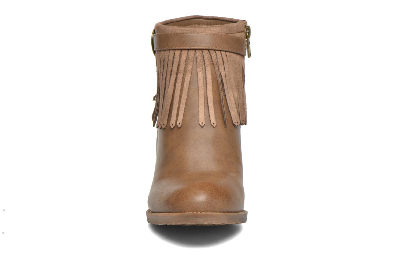 Ankelstøvler Refresh Priscilla 62231 Brun se skoene på