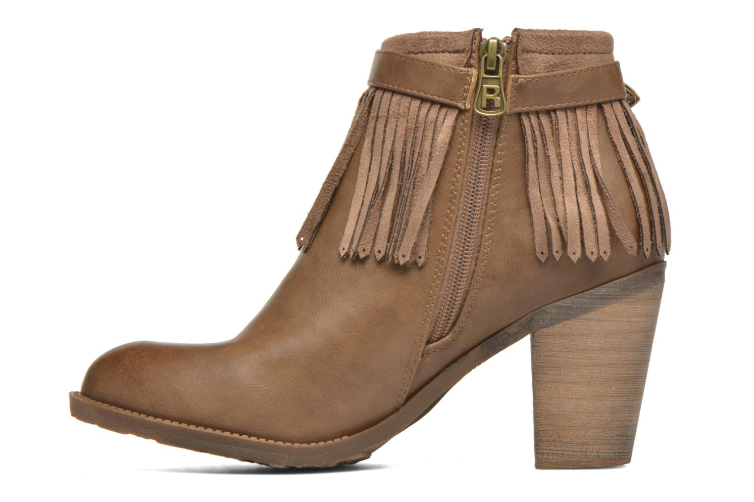 Ankle boots Refresh Priscilla 62231 Brown front view