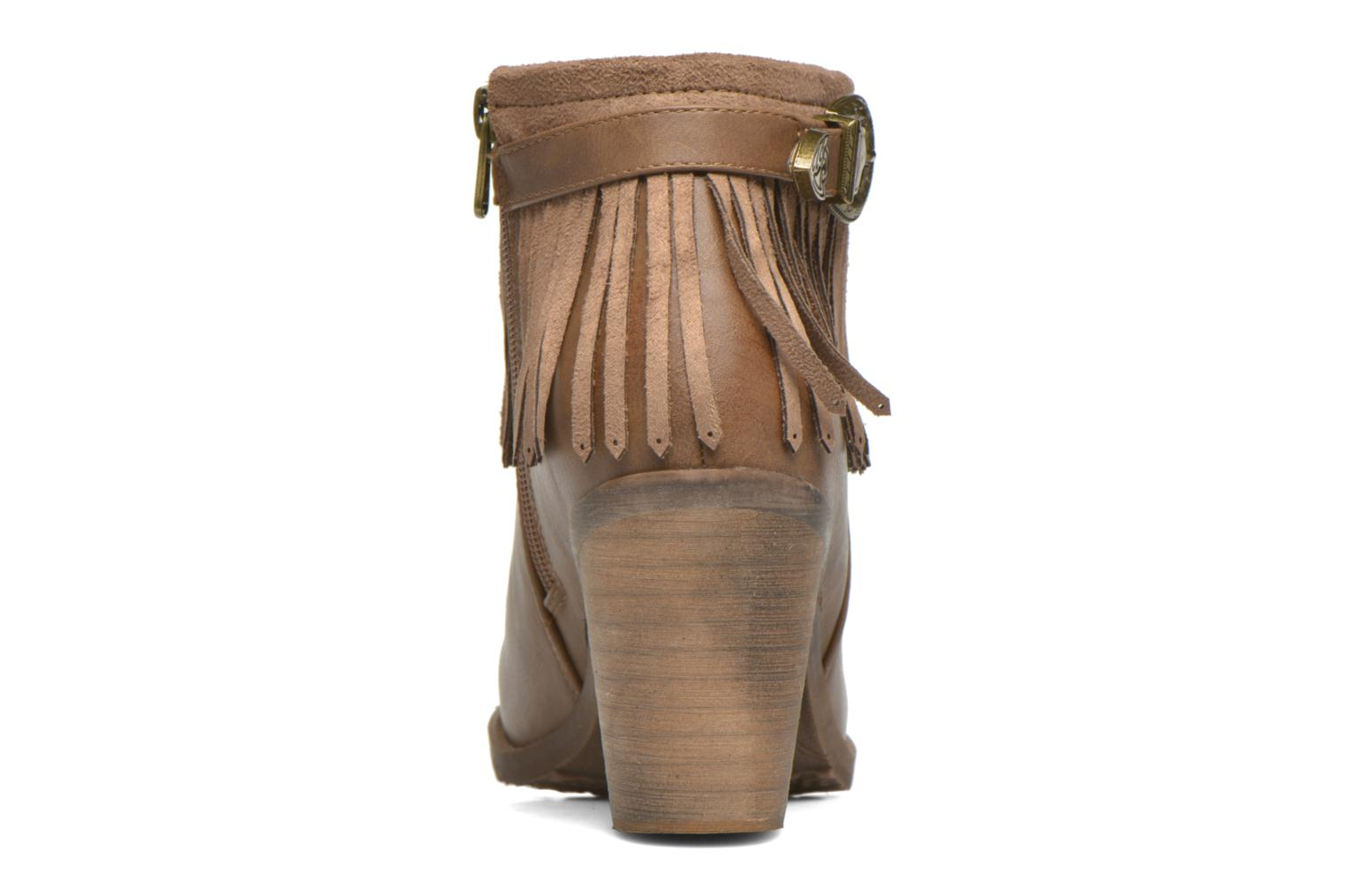 Ankle boots Refresh Priscilla 62231 Brown view from the right