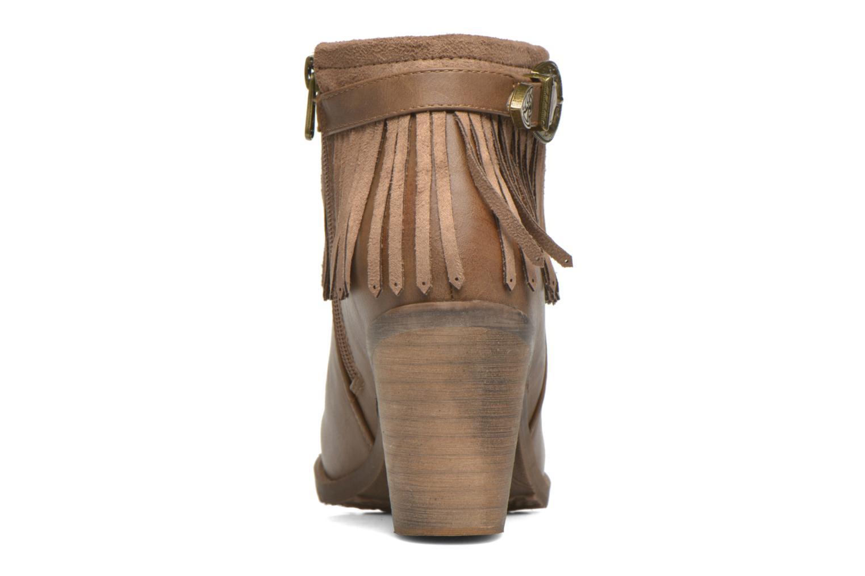 Stiefeletten & Boots Refresh Priscilla 62231 braun ansicht von rechts