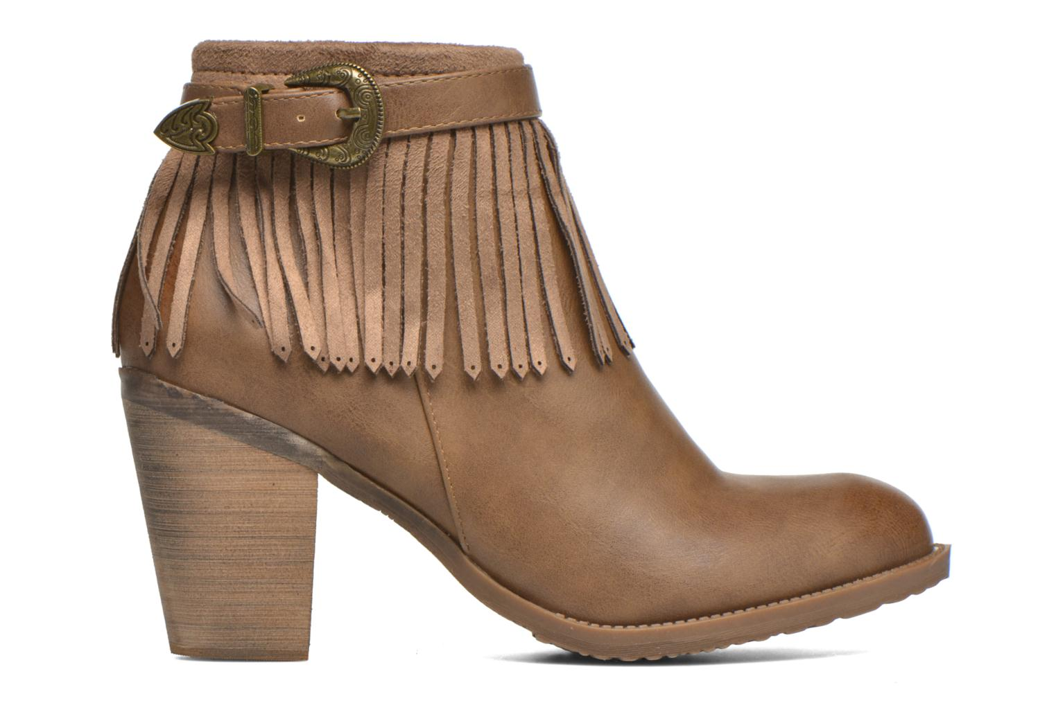 Ankle boots Refresh Priscilla 62231 Brown back view