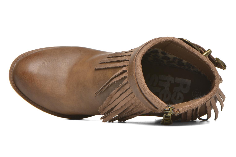Stiefeletten & Boots Refresh Priscilla 62231 braun ansicht von links