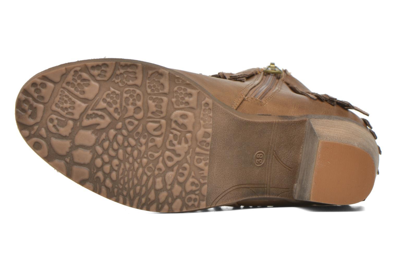 Stiefeletten & Boots Refresh Priscilla 62231 braun ansicht von oben
