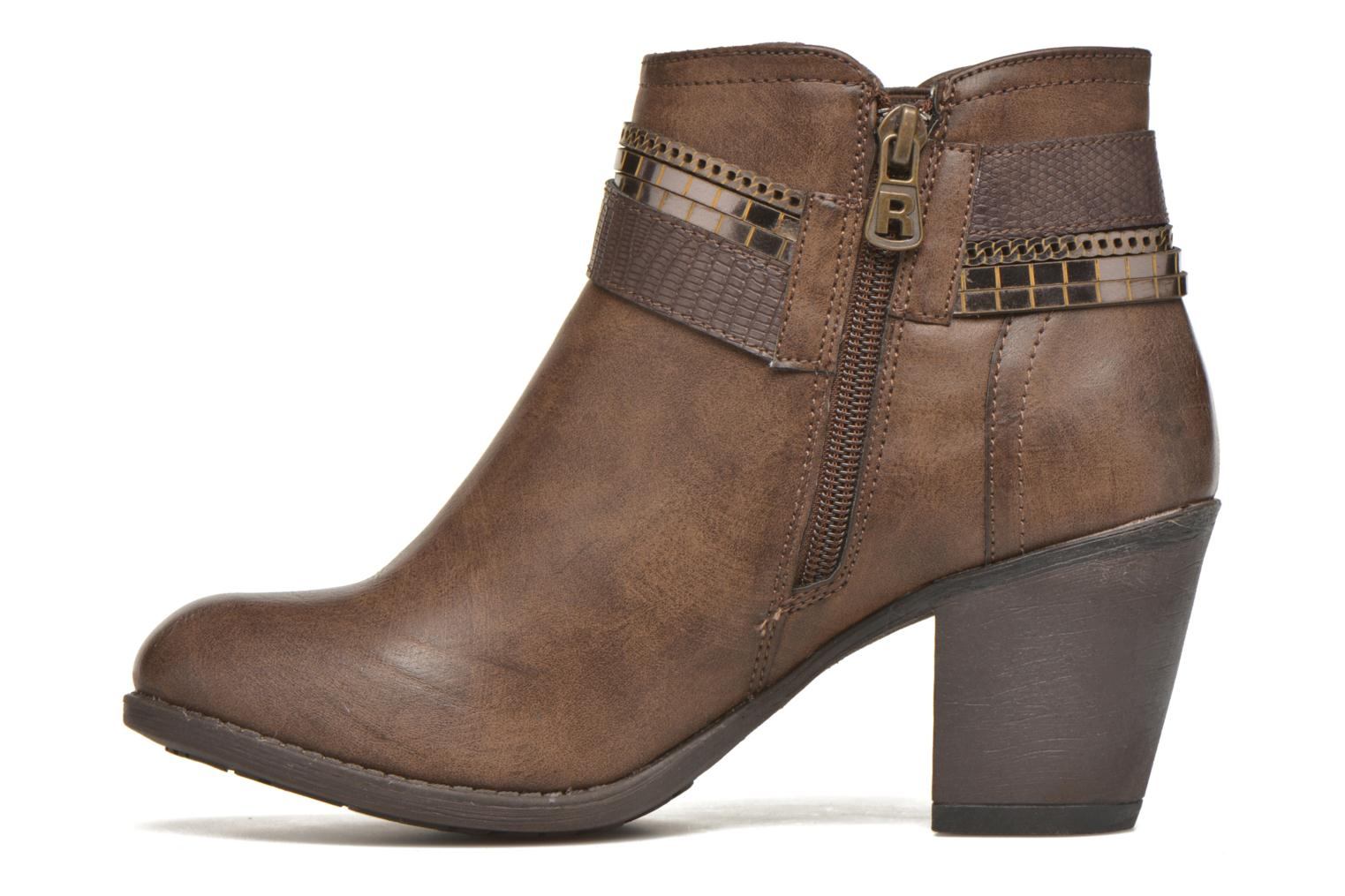 Ankle boots Refresh Jeanne 63111 Brown front view