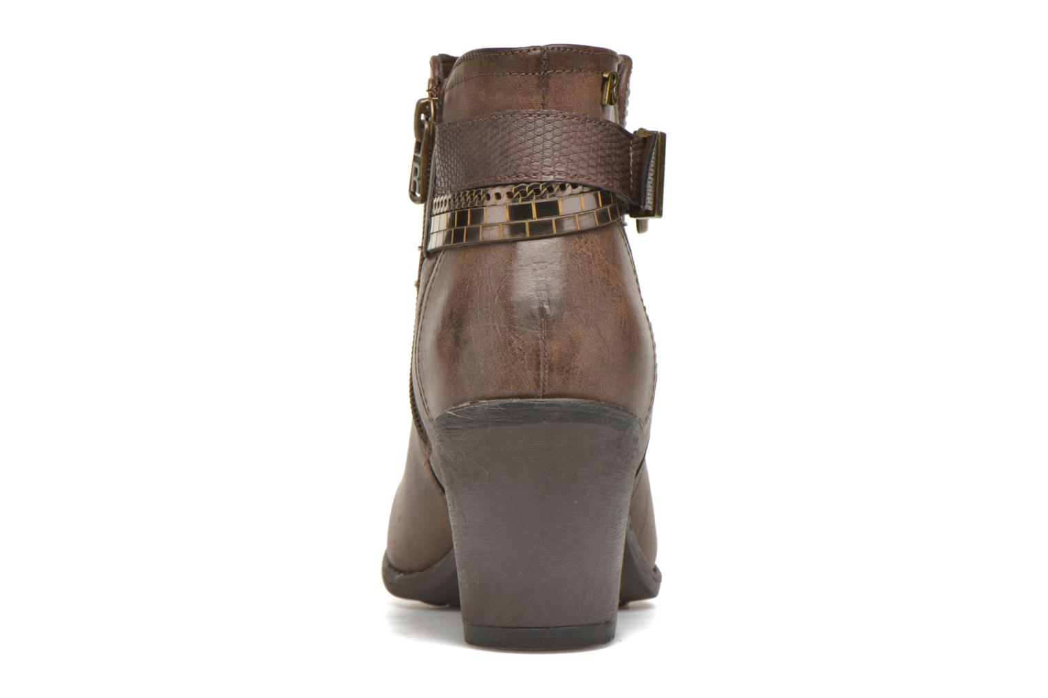 Ankle boots Refresh Jeanne 63111 Brown view from the right