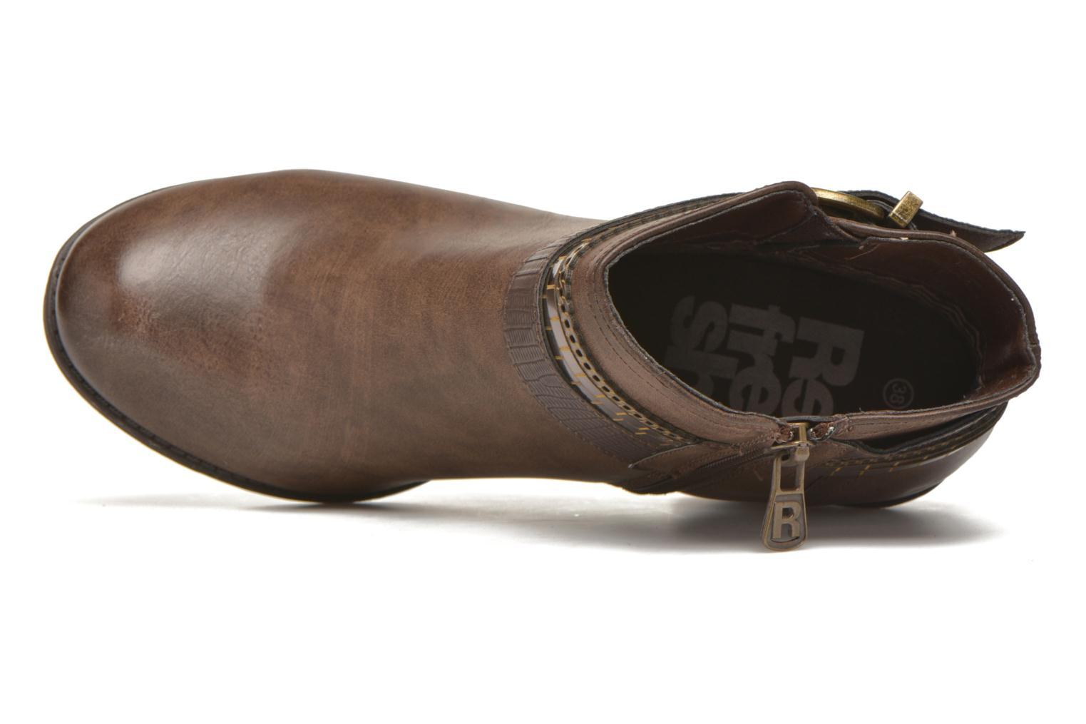 Ankle boots Refresh Jeanne 63111 Brown view from the left