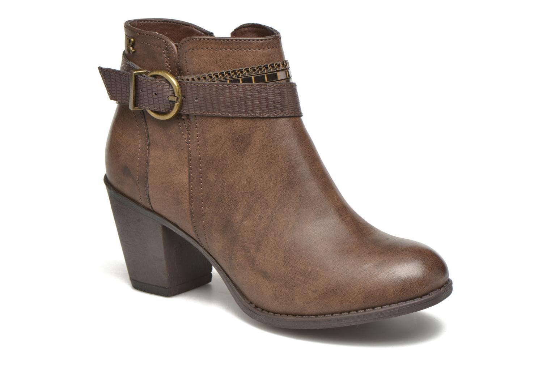 Bottines et boots Refresh Jeanne 63111 Marron vue détail/paire