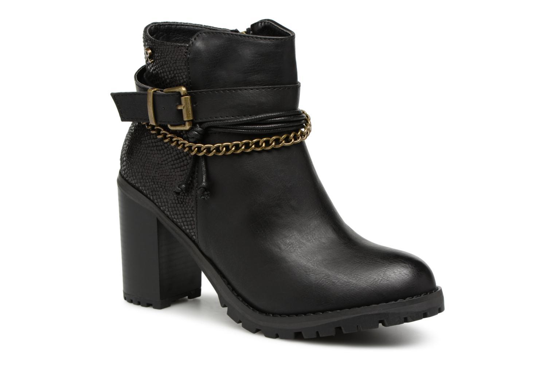Bottines et boots Refresh Pauline 63132 Noir vue détail/paire