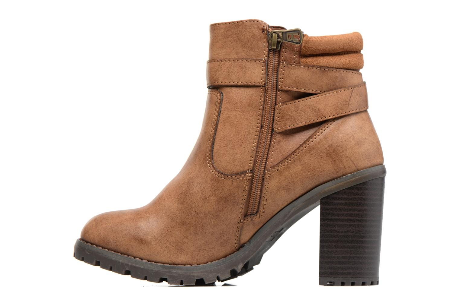 Ankle boots Refresh Margaux 63113 Brown front view