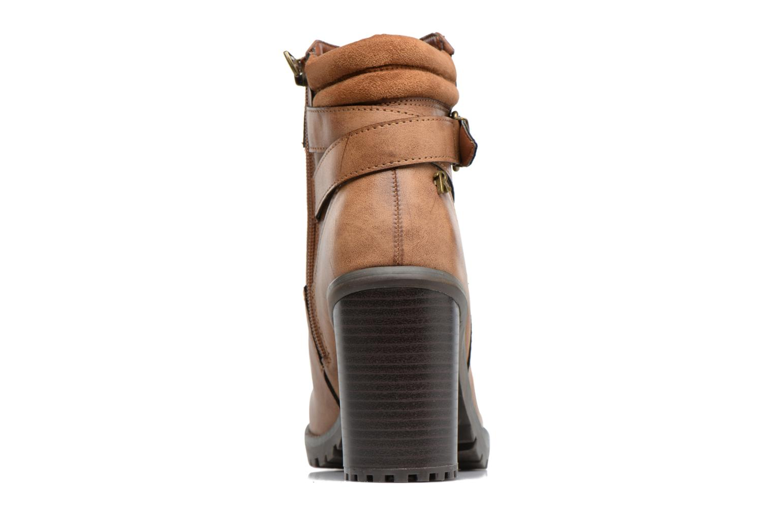 Ankle boots Refresh Margaux 63113 Brown view from the right