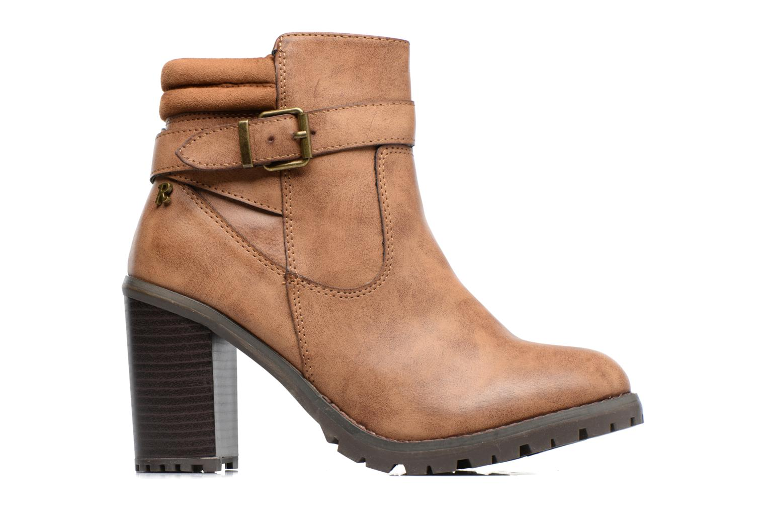 Ankle boots Refresh Margaux 63113 Brown back view