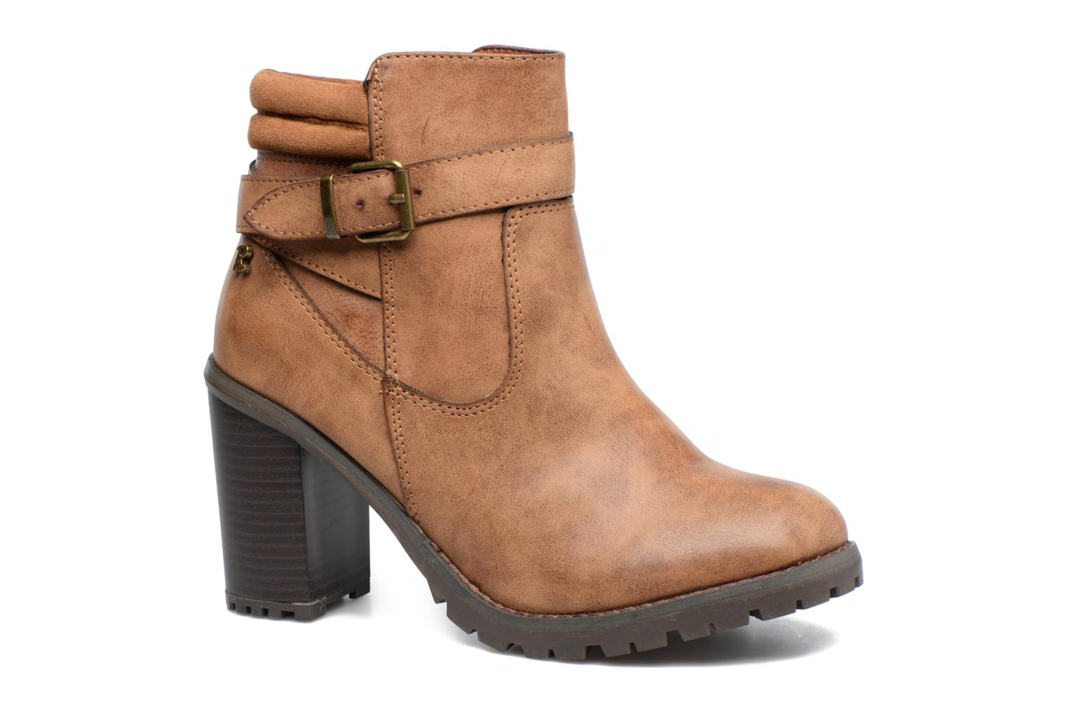Ankle boots Refresh Margaux 63113 Brown detailed view/ Pair view