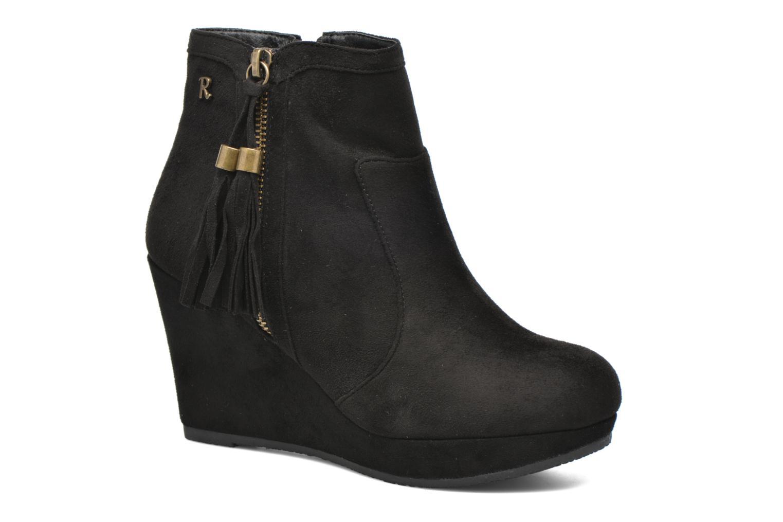 Ankelstøvler Refresh Flo 62295 Sort detaljeret billede af skoene