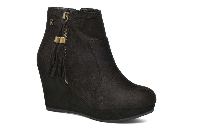 Bottines et boots Refresh Flo 62295 Noir vue détail/paire