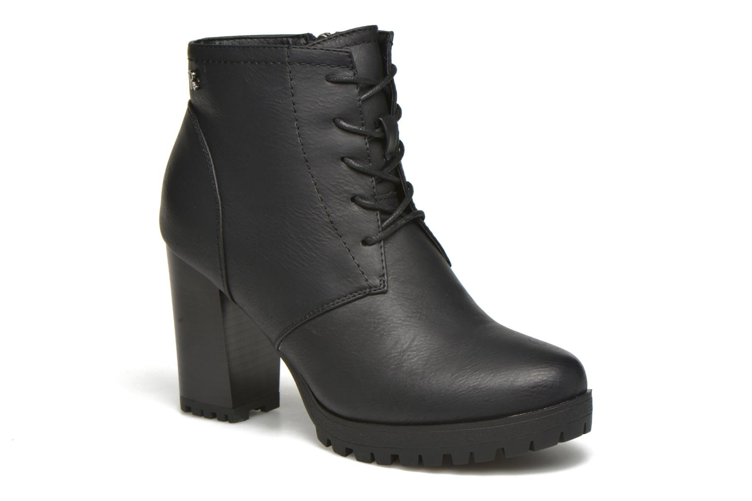 Ankle boots Refresh Charlotte 62176 Black detailed view/ Pair view