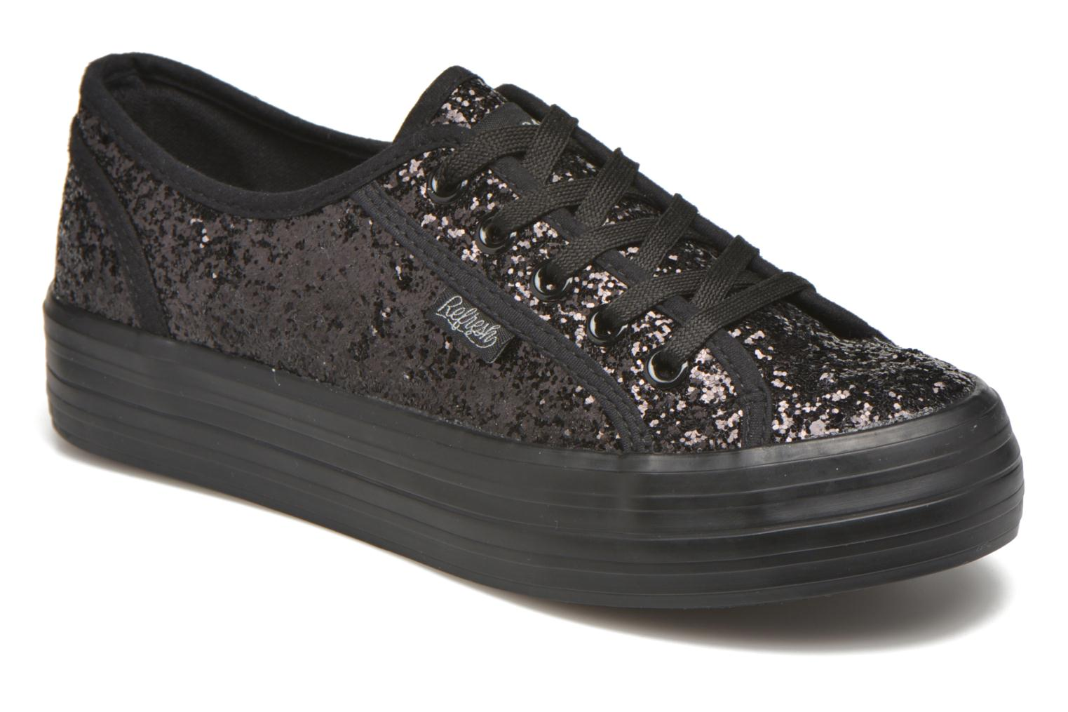 Trainers Refresh Anna 62223 Black detailed view/ Pair view