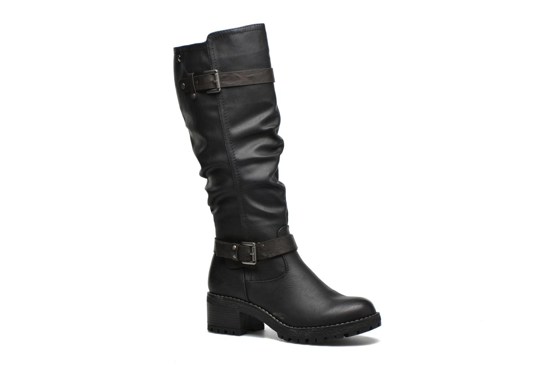 Støvler & gummistøvler Refresh Sarah 62182 Sort detaljeret billede af skoene
