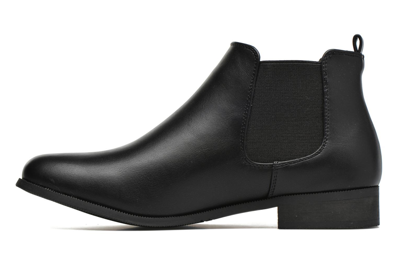 Bottines et boots Divine Factory Mailys Noir vue face