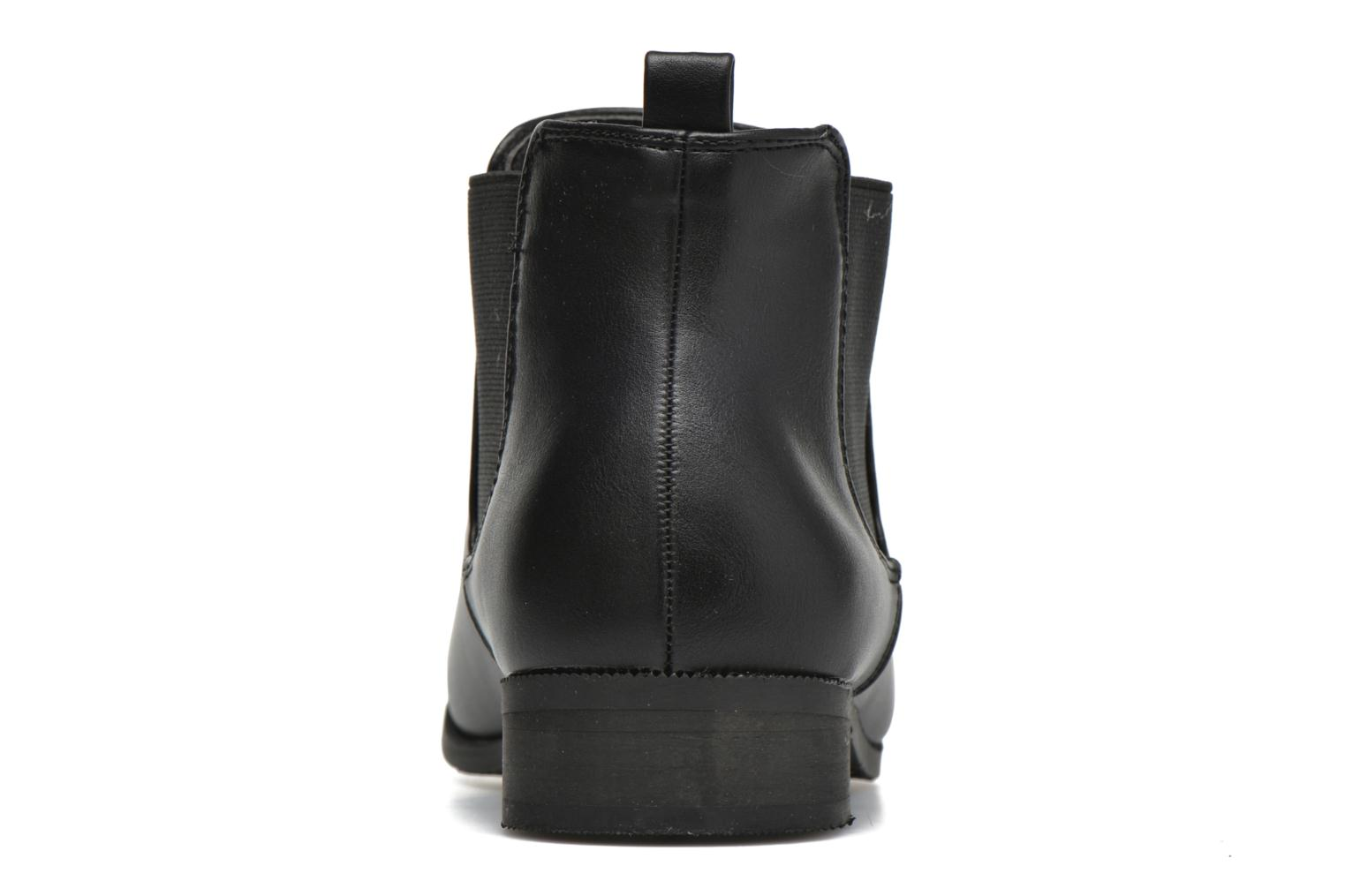 Ankle boots Divine Factory Mailys Black view from the right