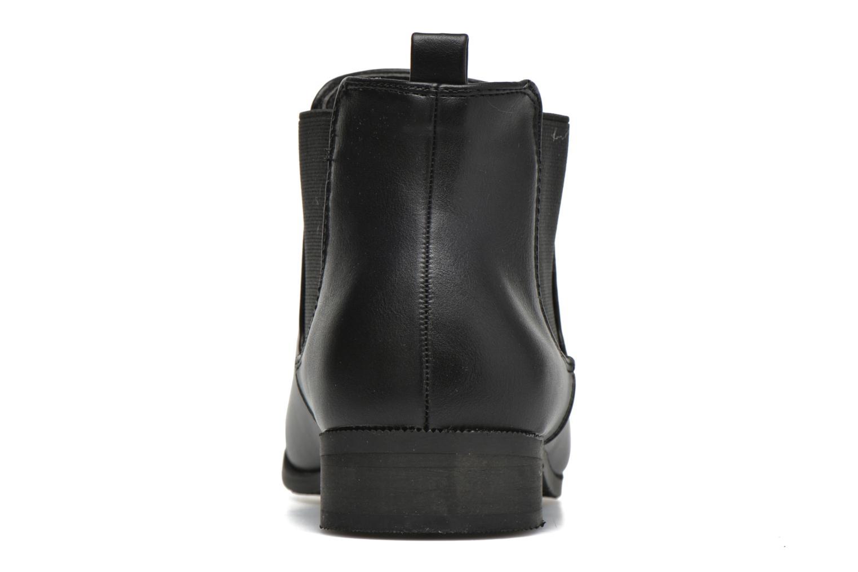 Bottines et boots Divine Factory Mailys Noir vue droite