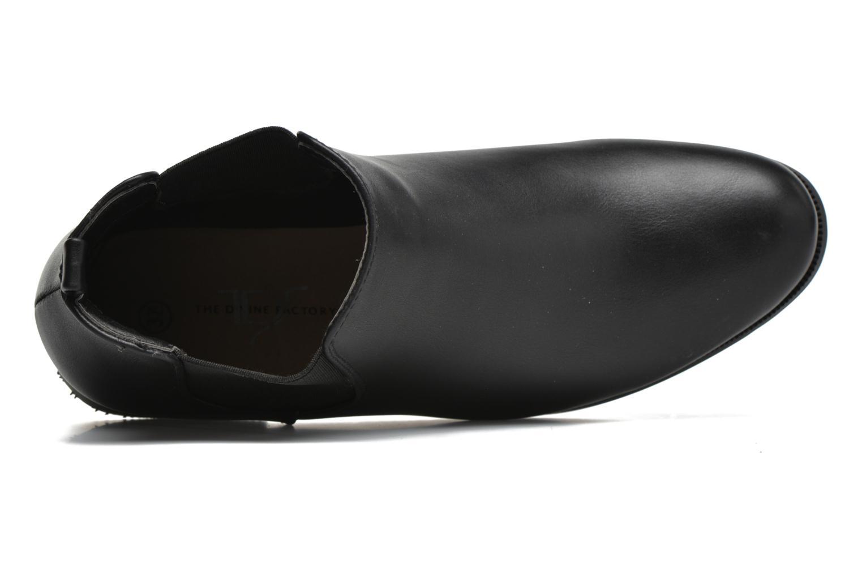 Bottines et boots Divine Factory Mailys Noir vue gauche