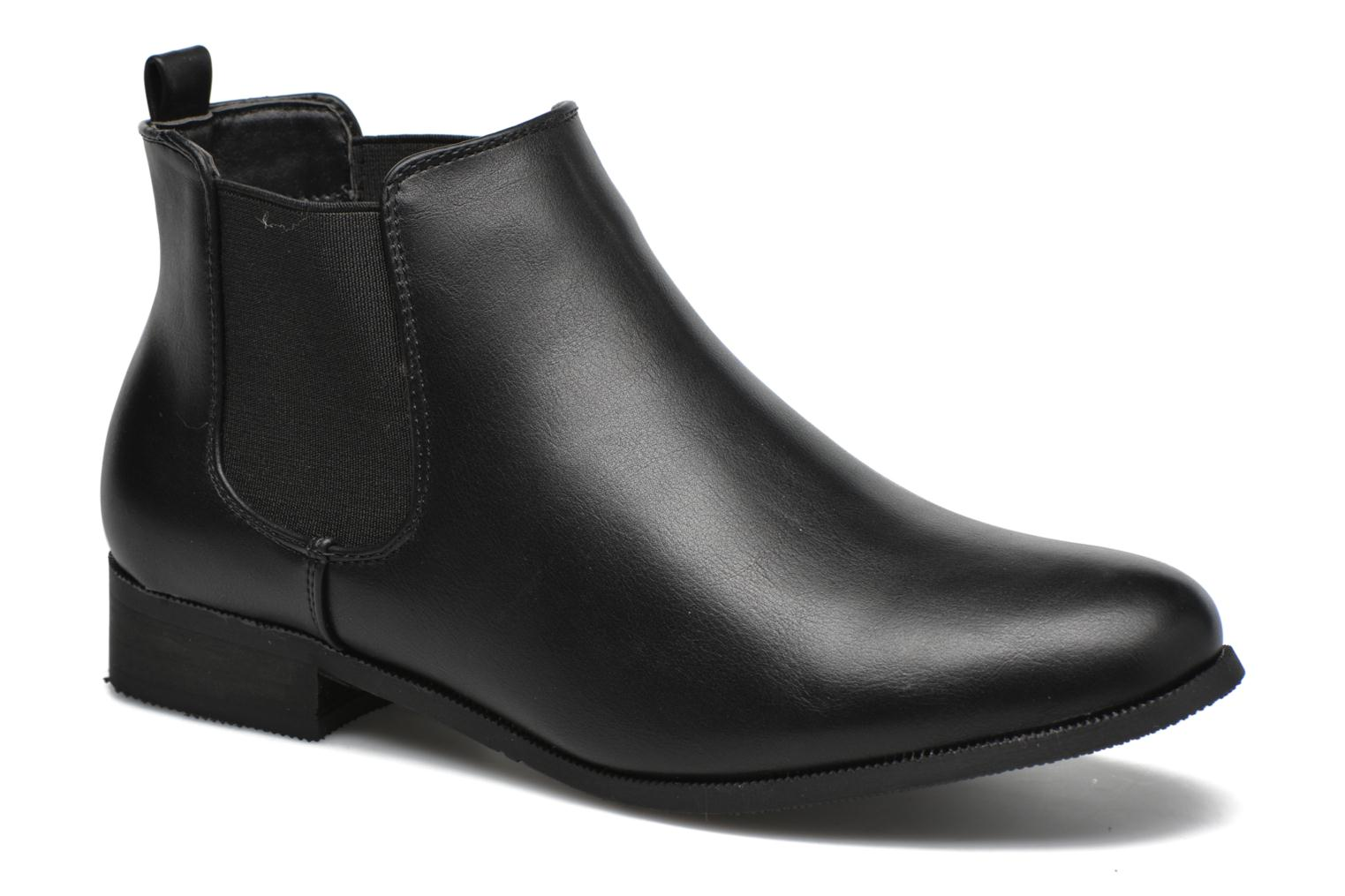 Ankle boots Divine Factory Mailys Black detailed view/ Pair view