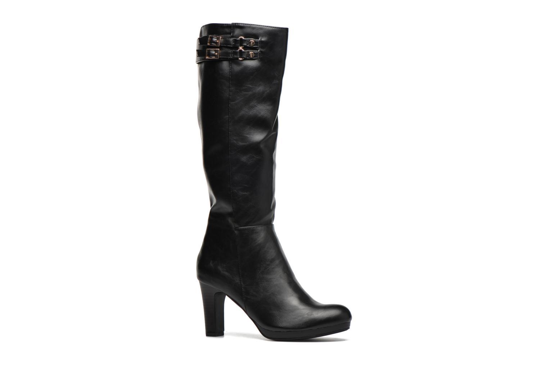 Støvler & gummistøvler Divine Factory DOUBLON Sort detaljeret billede af skoene