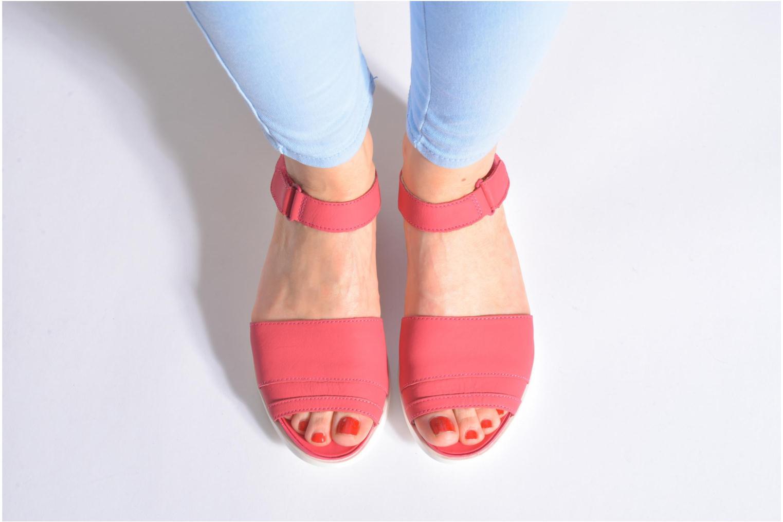 Sandales et nu-pieds Camper Miri 22559 Rose vue bas / vue portée sac