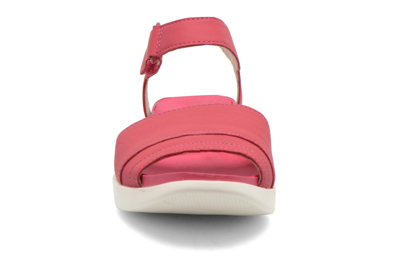 Sandales et nu-pieds Camper Miri 22559 Rose vue portées chaussures
