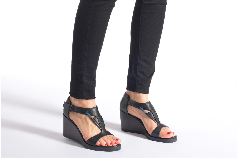 Sandales et nu-pieds Camper Limi 22569 Noir vue bas / vue portée sac