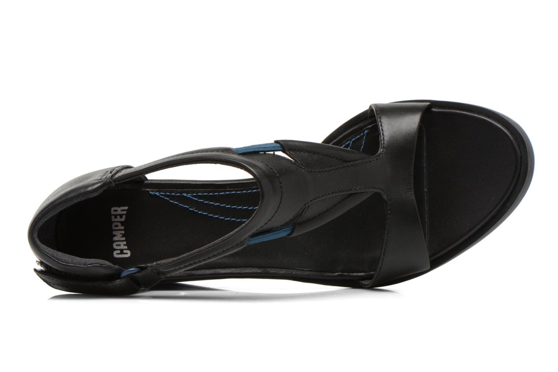 Sandales et nu-pieds Camper Limi 22569 Noir vue gauche