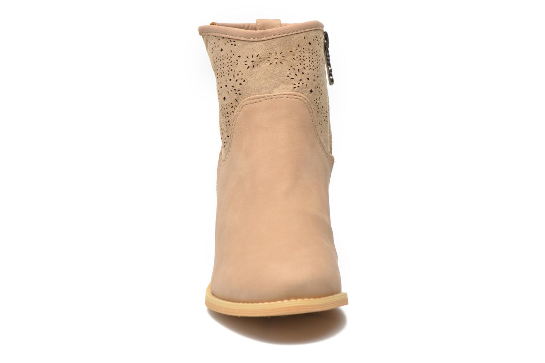 Bottines et boots Refresh Omalia-61706 Blanc vue portées chaussures