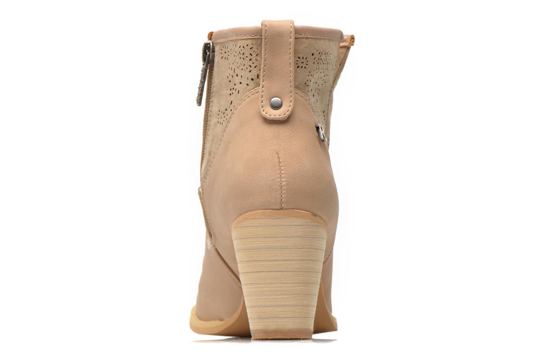 Bottines et boots Refresh Omalia-61706 Blanc vue droite