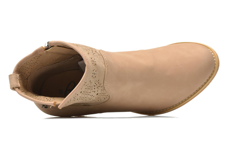Stiefeletten & Boots Refresh Omalia-61706 weiß ansicht von links
