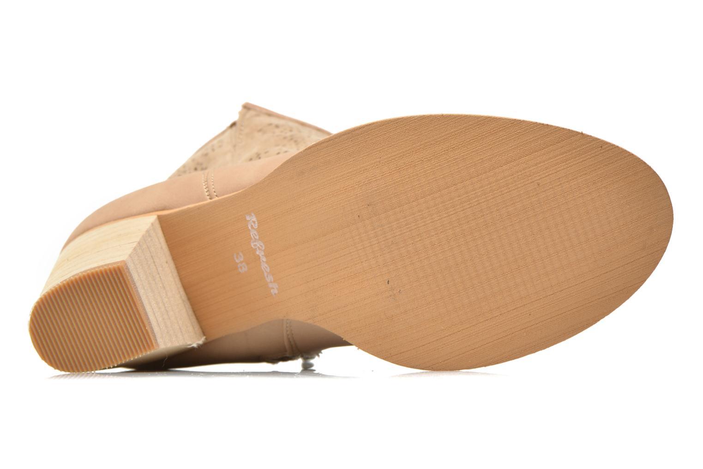 Bottines et boots Refresh Omalia-61706 Blanc vue haut